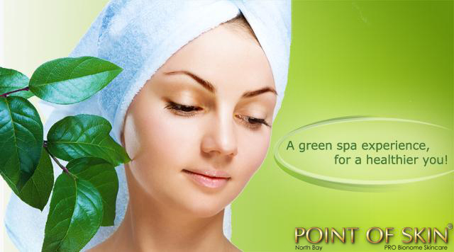 A green spa experience for a healthier you!; lady with towel